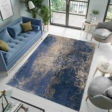 RUG DESIGNER BLUE/GREY 200X280 MAD MEN Cracks Abyss Blue Louis de Poorter 8629