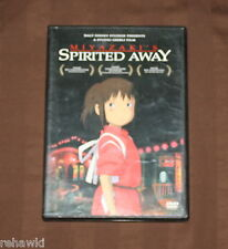 Spirited Away (Dvd, 2003, 2-Disc Set) *Rare Disney Dvd* Ghibli Film