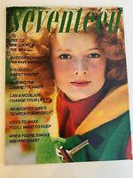 Seventeen Magazine November 1971 Sunny Redmond Cybil Shepherd Cheryl Tiegs