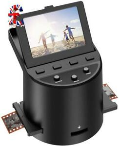 Quality Digital Film Scanner with 22MP, Converts 35mm, 126, 110, Super 8 Films,