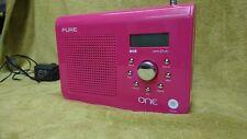 PURE DAB RADIO, BRIGHT PINK
