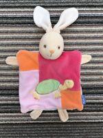 Kaloo Snail Lapin Bunny Rabbit Comforter Soother Blankie pink escargot tortoise