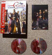 Casanova - Das Duell der Schwarzen Rose in Box - PC Action Game