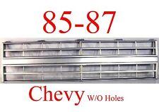 85 86 87 88 CHEVY TRUCK Grill W/O Holes, Fits 2 HL Trucks, Blazer Jimmy Suburban