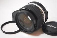 [NEAR MINT] Nikon Ai-S Nikkor 24mm 1:2 F2 Lens w/Filter,Caps From Japan