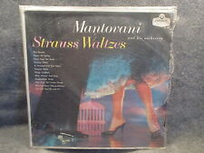 33 RPM LP Record Mantovani & His Orchestra Strauss Waltzes London Records LL-685