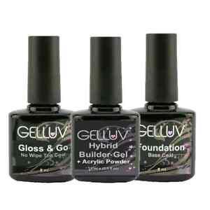 Gelluv 8ml UV LED Gel Nail Polish. The Essentials Range