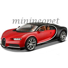BBURAGO 18-11040 2016 BUGATTI CHIRON 1/18 DIECAST MODEL CAR RED