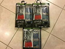 Lot de 9 Boxers DIM Style Coton Stretch- Taille 3 ou M - NEUF - Revendeur