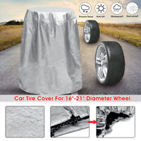 16-21'' Universal Car 4 Tire Rim Wheel Tyre Spare Storage Bag Cover Protection