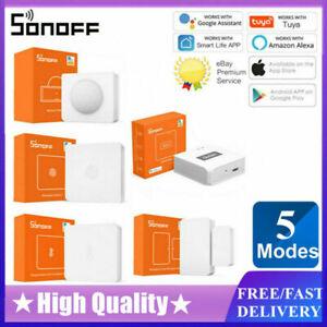 SONOFF Zigbee Temperature Humidity Sensor Smart Home Remotel Monitor US 2020