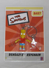 Bart Simpson ( KEY CHAIN ) Bendable TV Toy Figure RM1780