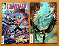 Hawkman 3 Covers A +  Stjepan Sejic Variant Cover 1st Prints DC 2018 NM+
