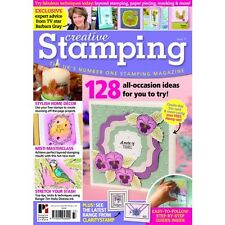 CREATIVE STAMPING ISSUE 37 + FREE 25 PIECE STAMP COLLECTION WINTER GARDEN