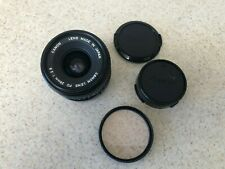 Canon 28mm f/2.8 FD-Mount MF Wide Angle Lens + Skylight Filter