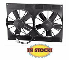 "Spal Electric Cooling Fan and shroud - Dual 11"" Puller 2,750 CFM 30102052"