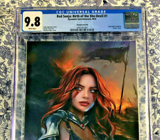 Red Sonja #1 CGC 9.8 Shannon Maer Comic Mint Exclusive Virgin Variant Dynamite!
