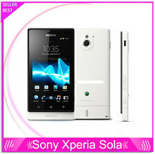 "Sony MT27 MT27i Xperia sola Dual core 3G Android 3.7"" Capacitive touch screen"