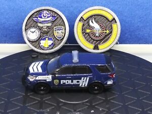 Greenlight 1:64 Custom Puerto Rico Police 2018 Ford Explorer Police