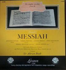 LN Boult Handel Messiah London Philharmonic 4 LP Record St Classical Vinyl a4403