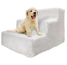 Doggie Steps For Small Dogs, Medium, Large Pet Bed Stairs Folding Ladder w Cover
