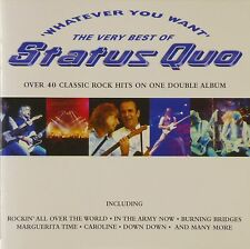 2x CD-status quo-Whatever You Want (The Very Best of Status Quo) - #a1494
