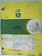 Parts Catalog Pc-1121 Original John Deere for 1520 Tractor