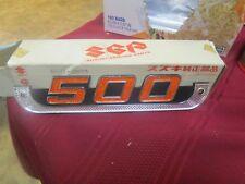 Suzuki T500 badge new 68141-15600