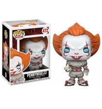 Funko POP Movies IT PENNYWISE WITH BOAT #472 Vinyl Figure  Blue Eyes MIB