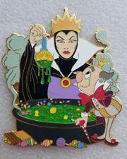Fantasy Disney Pin - Evil Queen and King Candy Mashup - LE 50- Mini Jumbo pin
