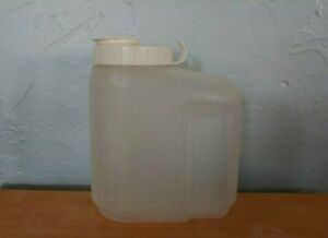 Rubbermaid 1.75 qt, 56 oz. pitcher. Short, wide jug + almond flip top cap lid