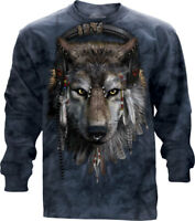 DJ Fen Long Sleeve T-Shirt by The Mountain. Wolf Tee S-2XL NEW
