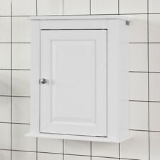 SoBuy® Hängeschrank mit einer Tür,Wandschrank,Badschrank,Medizinschrank,FRG203-W