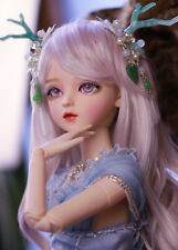 60cm BJD Doll 1/3 Ball Jointed Girl + Face Makeup Eyes Wig Clothes Full Set Toy