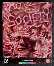 SOCIETY * LIMITED EDITION BLU RAY / DVD * 3000 ONLY * BN&M * BRIAN YUZNA * ARROW