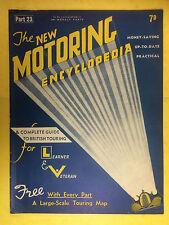 The NEW MOTORING ENCYCLOPEDIA  1937 - Part 23 - Morris - Motor Cycles