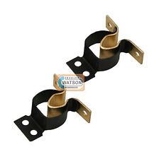 2 x Brass GRIPPER CATCH Boat Caravan Door Cabinet/Cupboard Metal Spring Latch