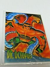 Spider-man Dr. Octopus Clear Chrome # 1 Limited Edition 1995 Fleer Ultra Card