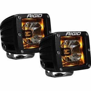 Rigid Industries 20204 Radiance Broad Spot Light Pod With Amber Backlight - Pair
