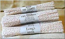 BJ LONG's BRISTLE PIPE CLEANERS - 10 Bundles