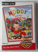 NODDY AND THE TOYLAND FAIR PC CD-ROM/MAC CHILDRENS GAME brand new & sealed !