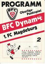 OL 89/90  BFC Dynamo Berlin - 1. FC Magdeburg
