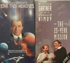 Star Trek original series William Shatner's memories & The 25-year mission VHS