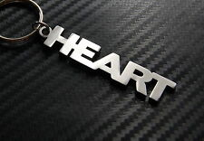 HEART True Love Keyring Keychain Key Fob Bespoke Novelty Stainless Steel Gift