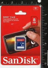 SanDisk 8 GB SDHC Card NEW SEALED