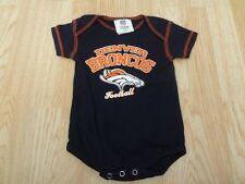 Infant/Baby Denver Broncos 3/6 Mo Creeper One-Piece (Navy)