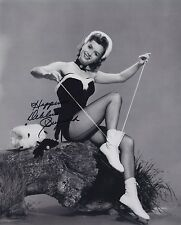 DEBBIE REYNOLDS SIGNED PHOTO SINGING IN THE RAIN AUTHENTIC!!  NOT SECRETARIAL!!