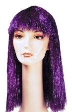 Morris Costumes Women's Pageboy Long Wig Tinsel Red. LW206RD