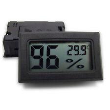 Igrometro LCD Portatile Mini Termometro Digitale Interno Bianco con Batterie Nep