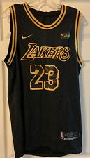 Men's Los Angeles Lakers Lebron James No.23 Swingman Jersey 2019 edición Mamba